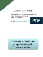 Ioana Ionut - Curs 2 - Compusi Cu Functiuni Monovalente