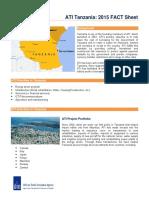ATI Tanzania FACT Sheet 2015