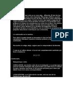 Carta Del Investigador