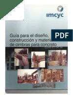 Guia Para El Diseño, Construccion y Materiales de Cimbras Para Concreto