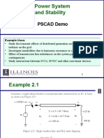 Using Pscad