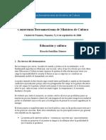 Conferencia Iberoamericana de Ministros de Cultura