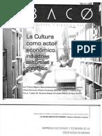 Industrias Culturales y Creativas