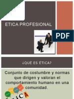 Etica Profesional Diapo