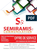 Offre Semiramis Communication Nov 2016