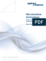 Micro Turbine Technology White Paper