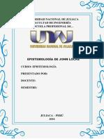 Modelo de Trabajo - Epistemologia