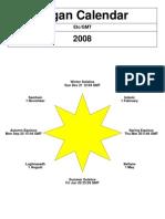 Pagan Calendar 2008