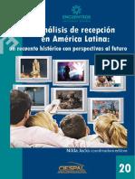 Analisis de Recepción en America Latina - Un Recuento Historico con perspectivas al futuro_Nilda Jacks