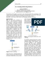 New E-learning Method Using Databases