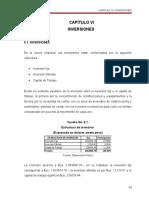 Capítulo 6 Inversiones