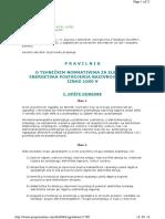 27_Pravilnik o Tehnickim Normativima Za Elektroenergetska Postrojenja Nazivnog Napona Iznad 1000 V