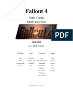 Fallout 4 Orchestral Score