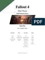 Fallout 4 Orchestral Score