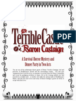 Terrible Castle of Baron Castaign SAMPLE