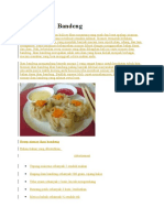 Siomay Ikan Bandeng