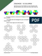 6 Hexagonos 6 Colores