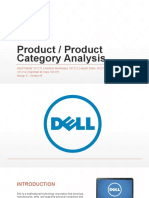 Product Category Analysis - Dell