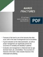 Manus Fractures