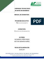 Manual_asignatura_Principios de Programacion UTBB 77