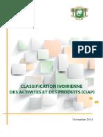 Classification Ivoirienne Des Produits