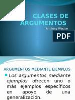Clases de Argumentos (1)