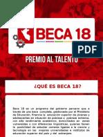 Beca 18 Ppt Exposicion