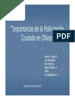 PolinizacionCruzadaenOlivos