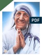 Madre Santa Teresa de Calcuta