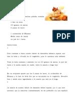 Licor de Almendras Casero