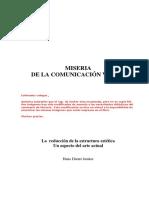Dieter Junker Miserias de la comunicación Visual