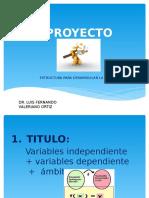 Proyecto las variables