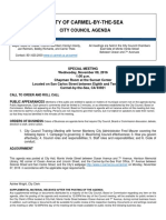 Special Meeting Agenda 11-09-16 Council Training