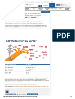 SAP Course, Module for My Career _ About SAP Tutorials _ STechies