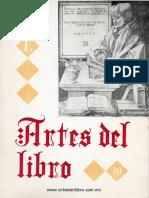 Revista Artes del Libro N° 10