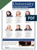 East Haven High School Senior Spotlight