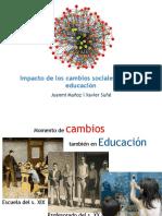 Juanmi Muñoz+Xavier Suñé canvis socials