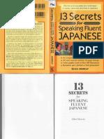 13 Secrets for Speaking Fluent Japanese.pdf