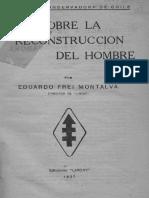 ideas sobre la reconstrucción del hombre - Frei Montalva 5e12d55cd70