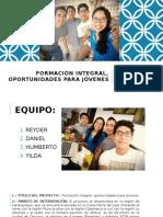 Oportunidades Para Jovenes Pr1 Nuevo