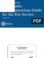 Voice Radio Communications Guide for the Fire Service - Oct 2008 - US Fire Administration