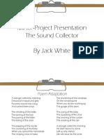 Minor Project - Interim Crit Presentation