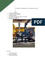 Turbina Francis- Materiales y Procedimiento