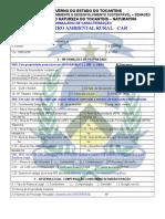 Formulário - CAR