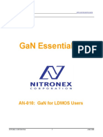 Nitronex AN-010 Gan Essentials for LDMOS users
