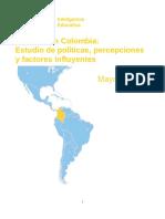 El Inglés en Colombia Estudio de Políticas Percepciones y Factores Influyentes Consejo Británico