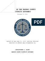 Report on June 21 2015 OIS