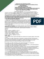 Edital PM 2005 - Completo
