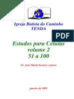 Estudos Para Celulas Volume II