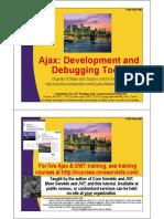 Ajax Development Tools
